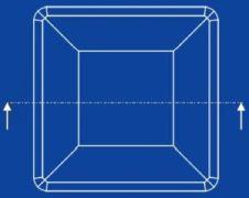zaślepka kwadratowa zewnętrzna